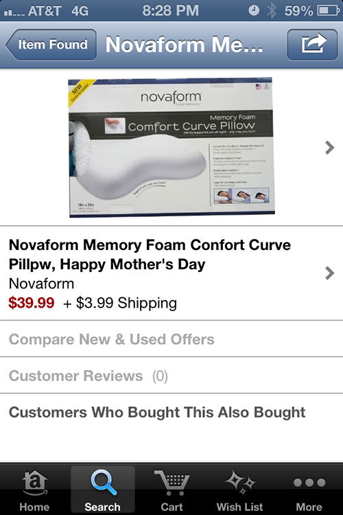 novaform-amazon-pillow