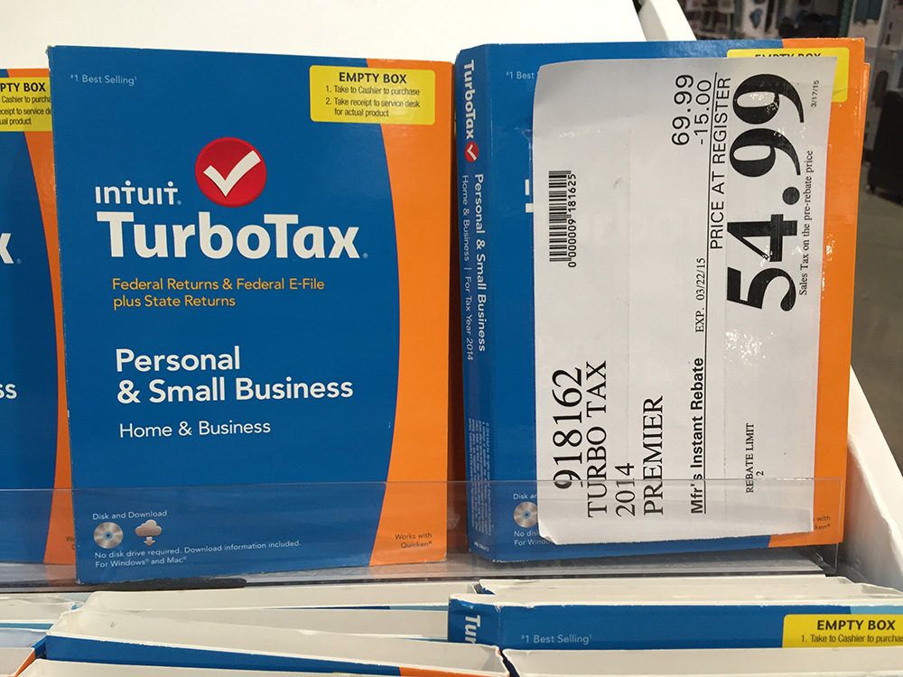 can you download turbotax from costco